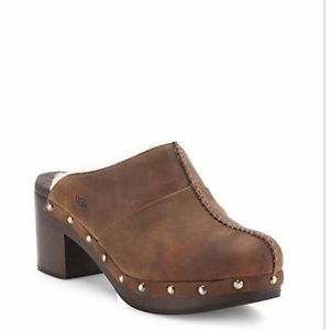 UGG WOMEN'S KASSI clog chocolate brown size 7